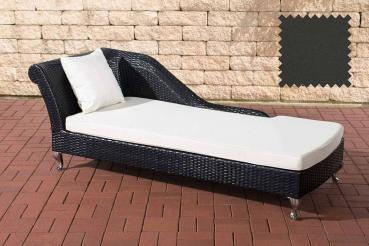 Chaiselongue Savannah anthrazit , schwarz